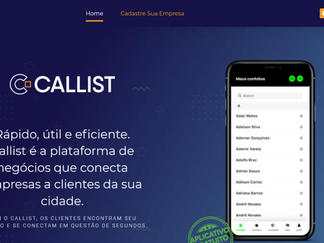 Callist APP de agenda de contatos